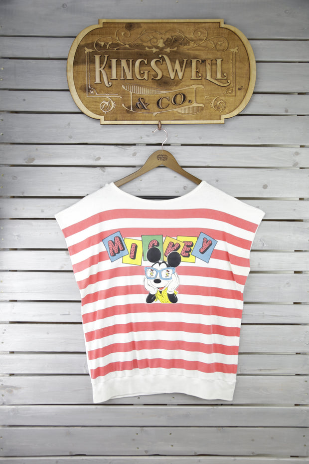 Mickey Stripped Tee