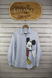 Mickey Says Hi, Button Shirts