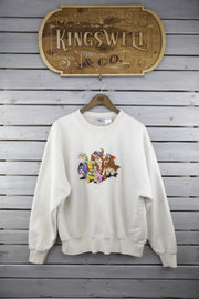 Pooh Bear and Friends Sweater