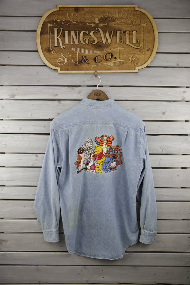 Pooh Bear and Friends Denim Shirt