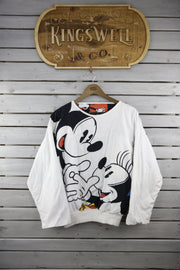 Minnie & Mouse Polka Dot Reversible Sweater