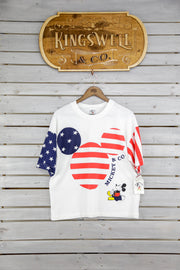 Mickey & Co. America Crop W/ Boxer Shorts