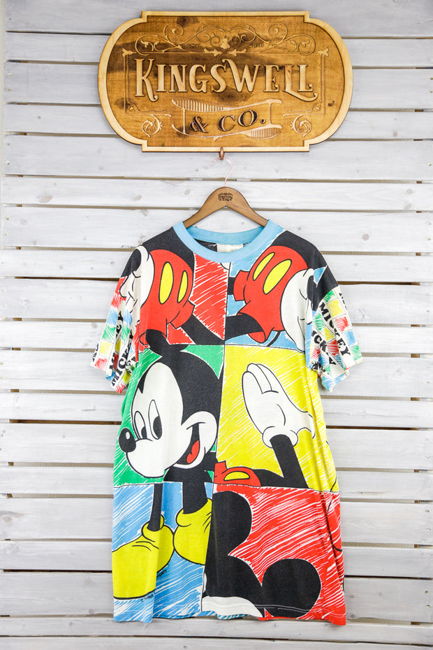 Abstract Mickey Dress