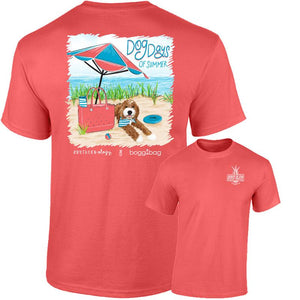 """Dog Days of Summer"" Bogg Beach Tee"