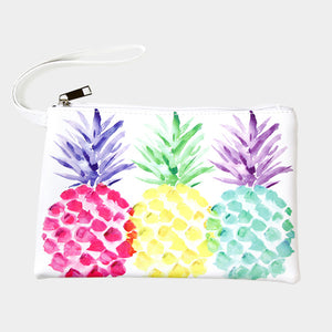 Colorful Pineapple Pouch/Bag