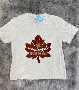 Most Wonderful Time Of The Year Tee - Sissy Boutique