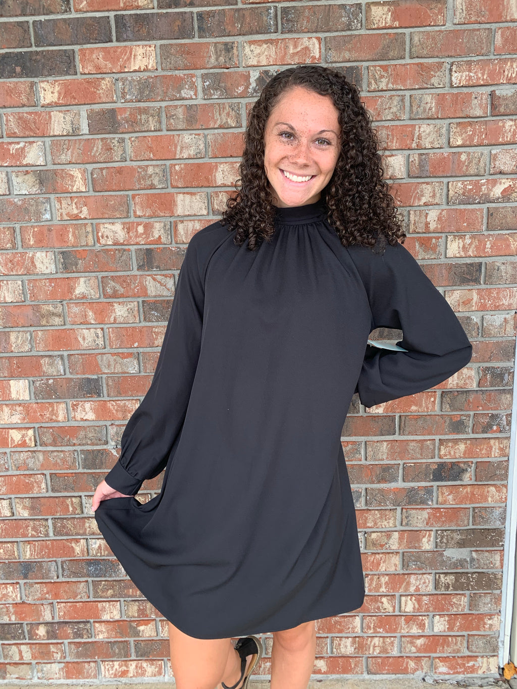 Make an Entrance Black dress - Sissy Boutique