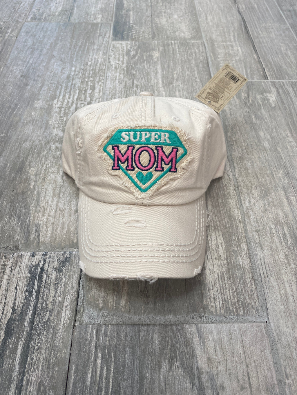 Ivory Super Mom Cap - Sissy Boutique