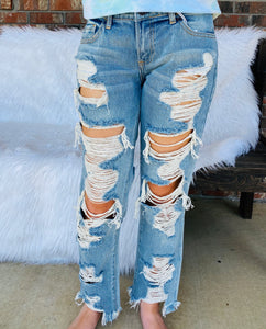Downtown Nights Jeans - Sissy Boutique
