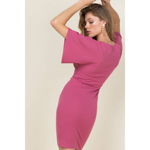 Made to Last Dress (Mauve) - Sissy Boutique