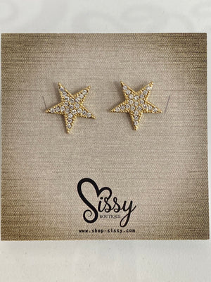 By The Sea Star Studs - Sissy Boutique