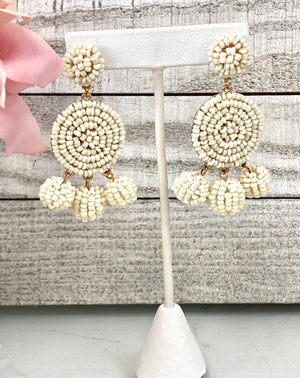Upon The Cloud Earrings - Sissy Boutique