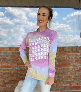 Thankful Long Sleeve Tee - Sissy Boutique