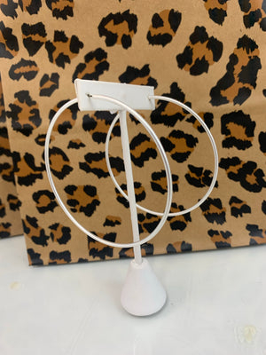 Silver Hoops - Sissy Boutique