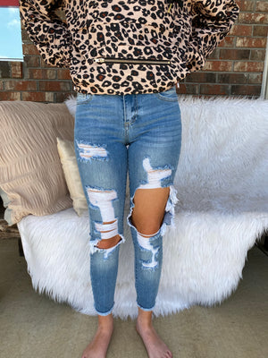 Flirty And Thriving Jeans - Sissy Boutique