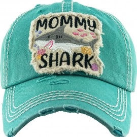 Mommy Shark Cap - Sissy Boutique