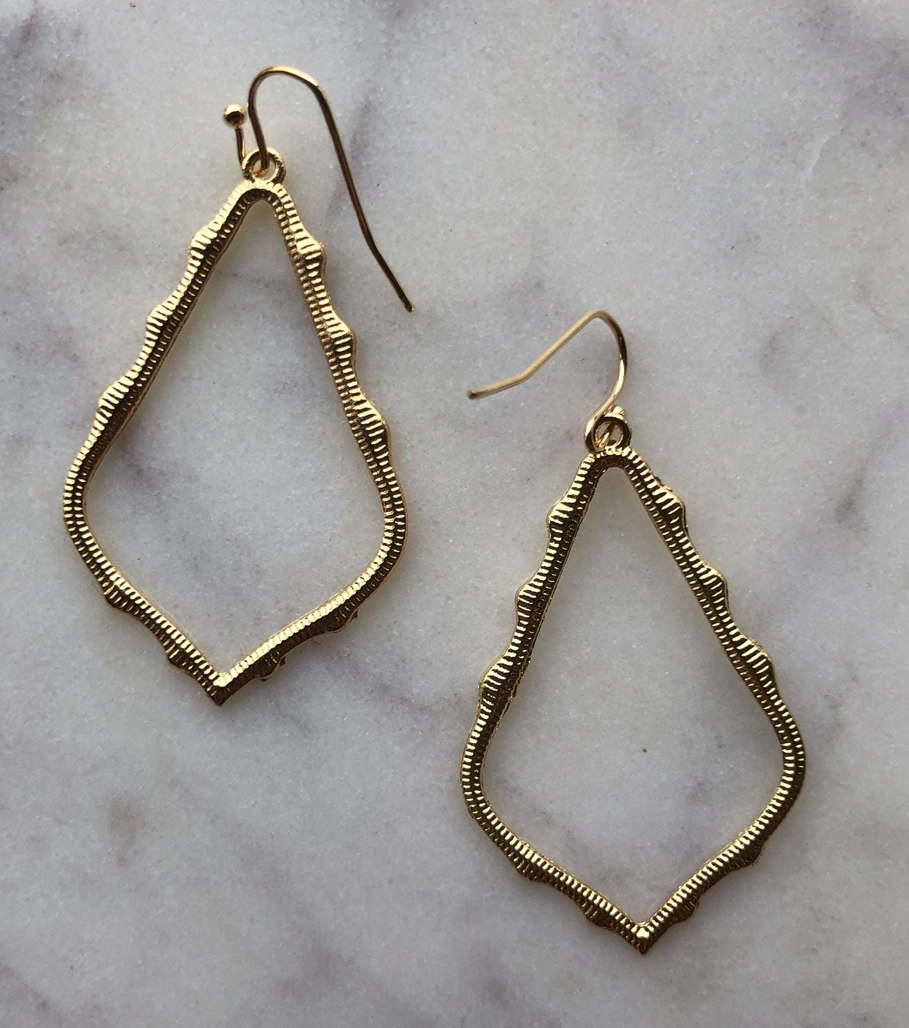 Sophia Drop Earrings Gold - Sissy Boutique