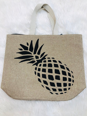 Pineapple beach bag - Sissy Boutique