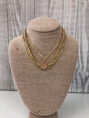 Raw and Rebellious Gold stack - Sissy Boutique