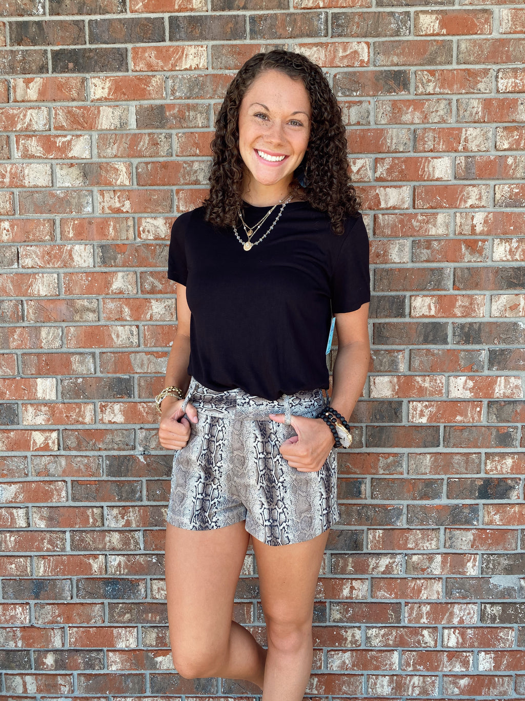 Discover Your Wild Python Shorts - Sissy Boutique