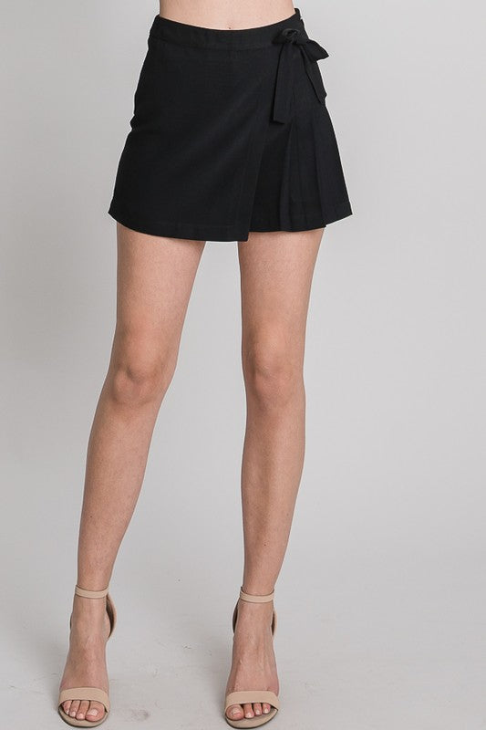 Lust For Love Black Skort