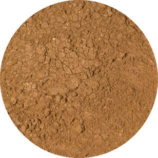 Visible Effects Mineral Foundation Puff Jar Dark Tan