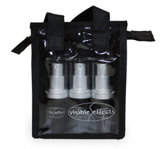 Visible Effects Travel Pack - Cleanser, Toner, Rich Moisturizer