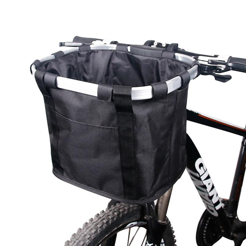 Handlebar Bicycle Basket Pouch Bag