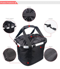 Load image into Gallery viewer, Handlebar Bicycle Basket Pouch Bag
