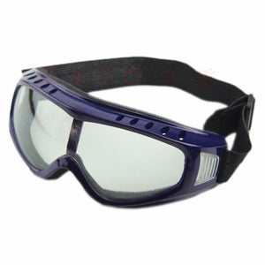 Wind and Dust Resistant Goggles in Blue
