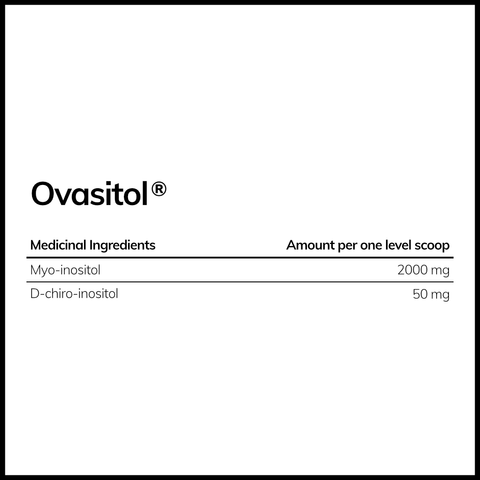 Ovasitol® Inositol Powder (90-day supply) - Theralogix Canada