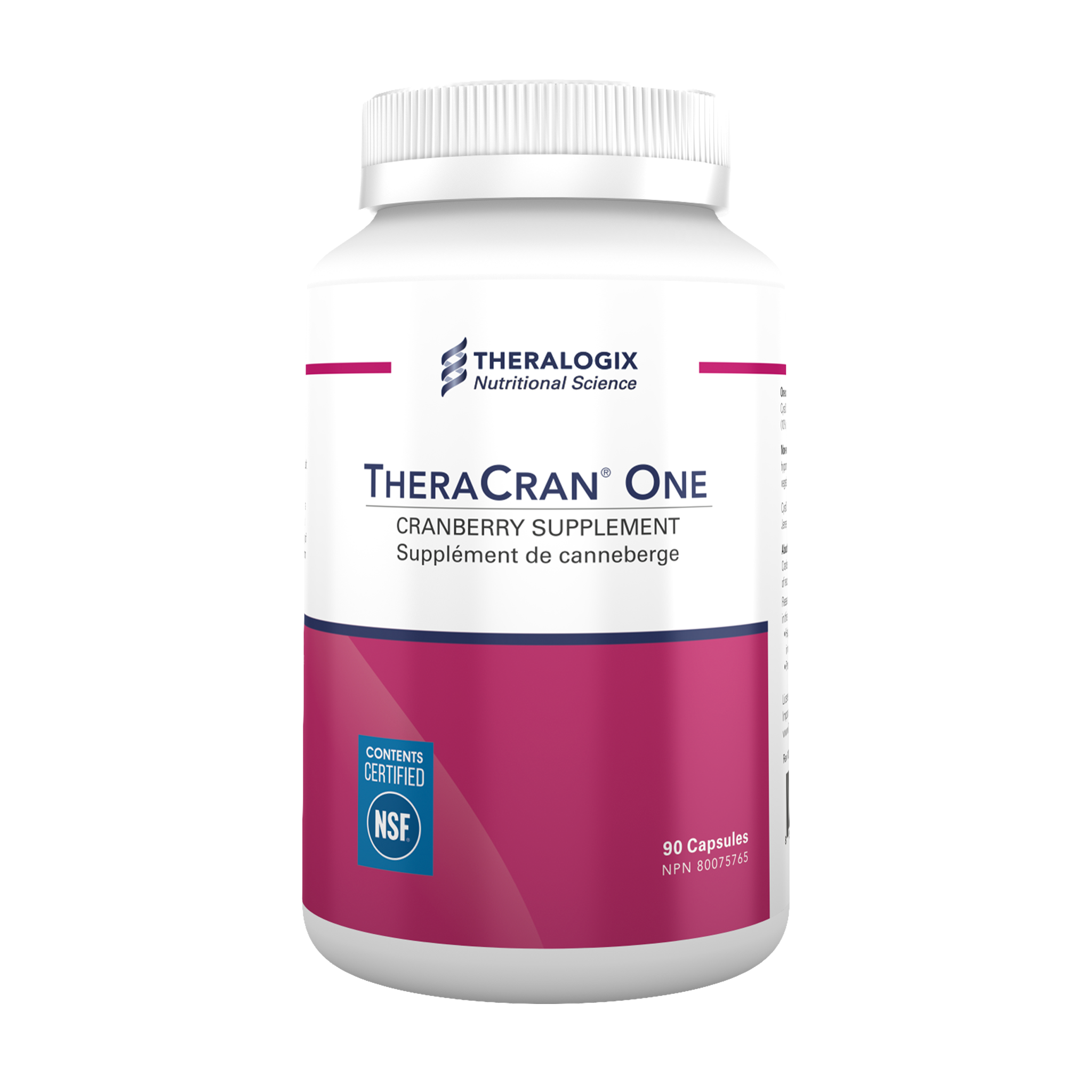 TheraCran® One Cranberry Capsules (90-day supply) - Theralogix Canada