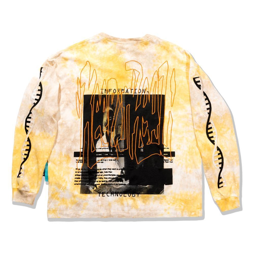 Perks And Mini Dna Oversized Ls Tee - Yellow