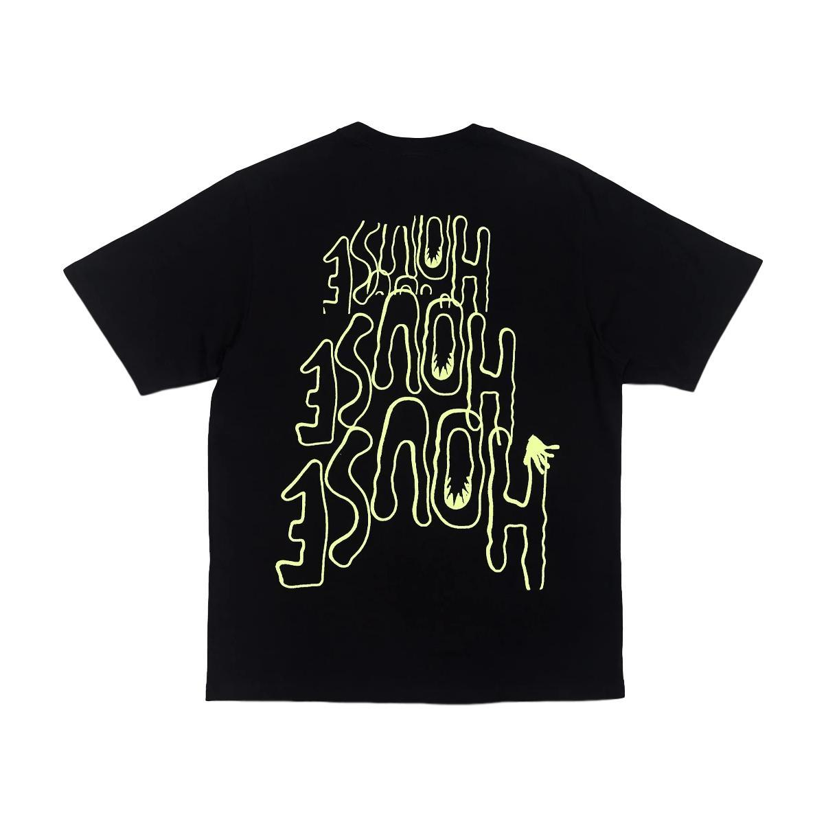 Perks And Mini House House House Ss Tee - Black