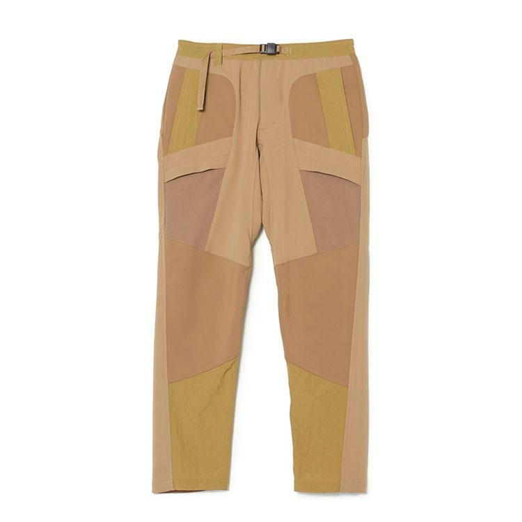 White Mountaineering Patchwork Tech Pants - Cream