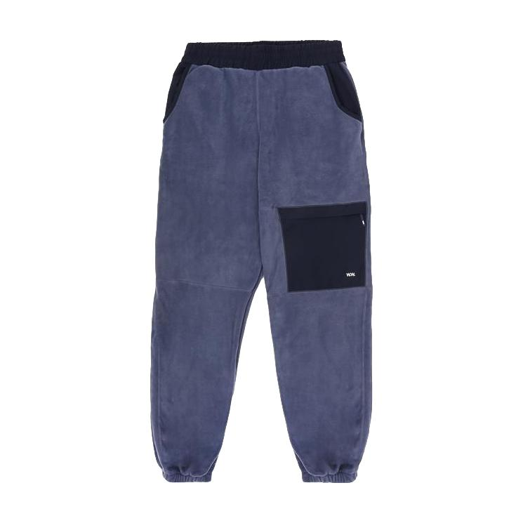 Wood Wood Sigurd Trousers - Steel Blue