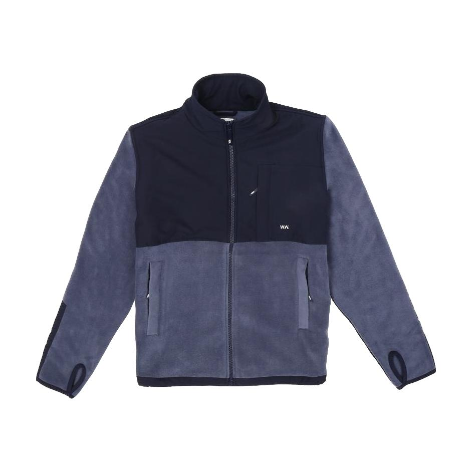 Wood Wood Hannes Jacket - Steel Blue