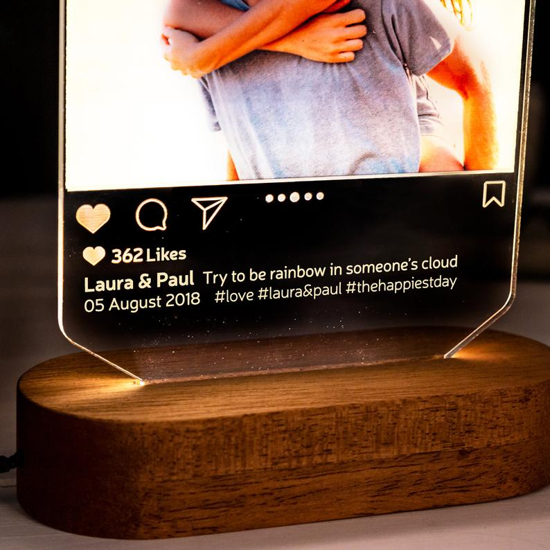 Instagram Style 3D Led Lamp