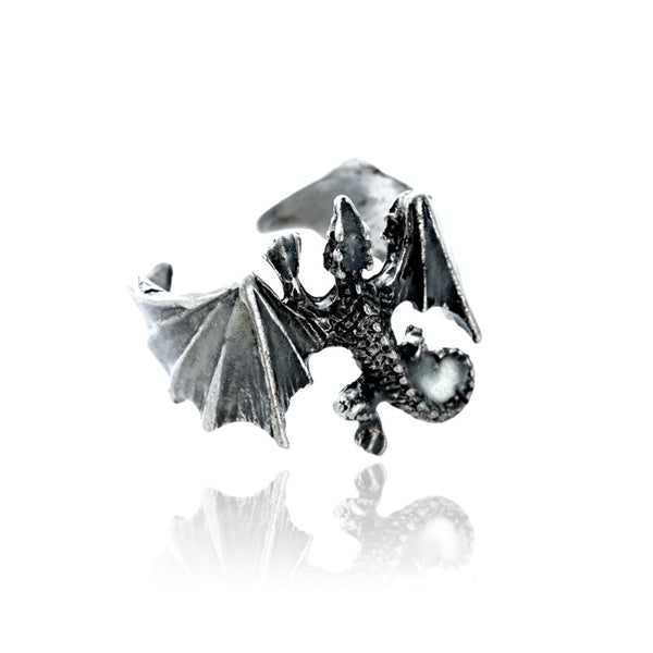 Glow Game Of Thrones Drogon Dragon Ring (Adjustable size)