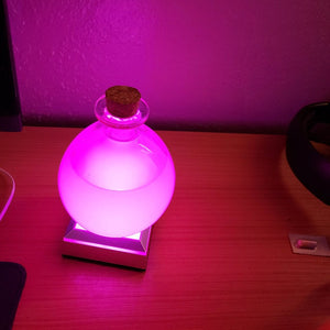 Multi Color Potion Lamp