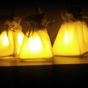 Tea Light Bags (3 pieces)