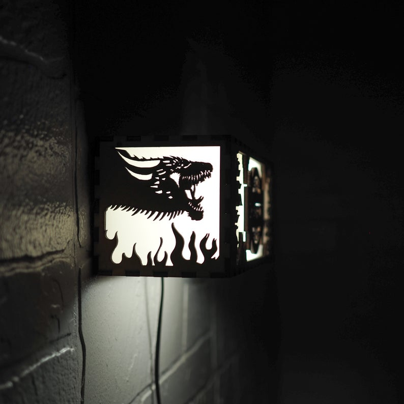 Game of Thrones Night Lamp