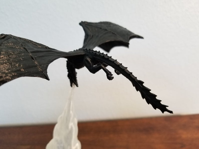 Game Of Thrones 3D Dragon Lamp
