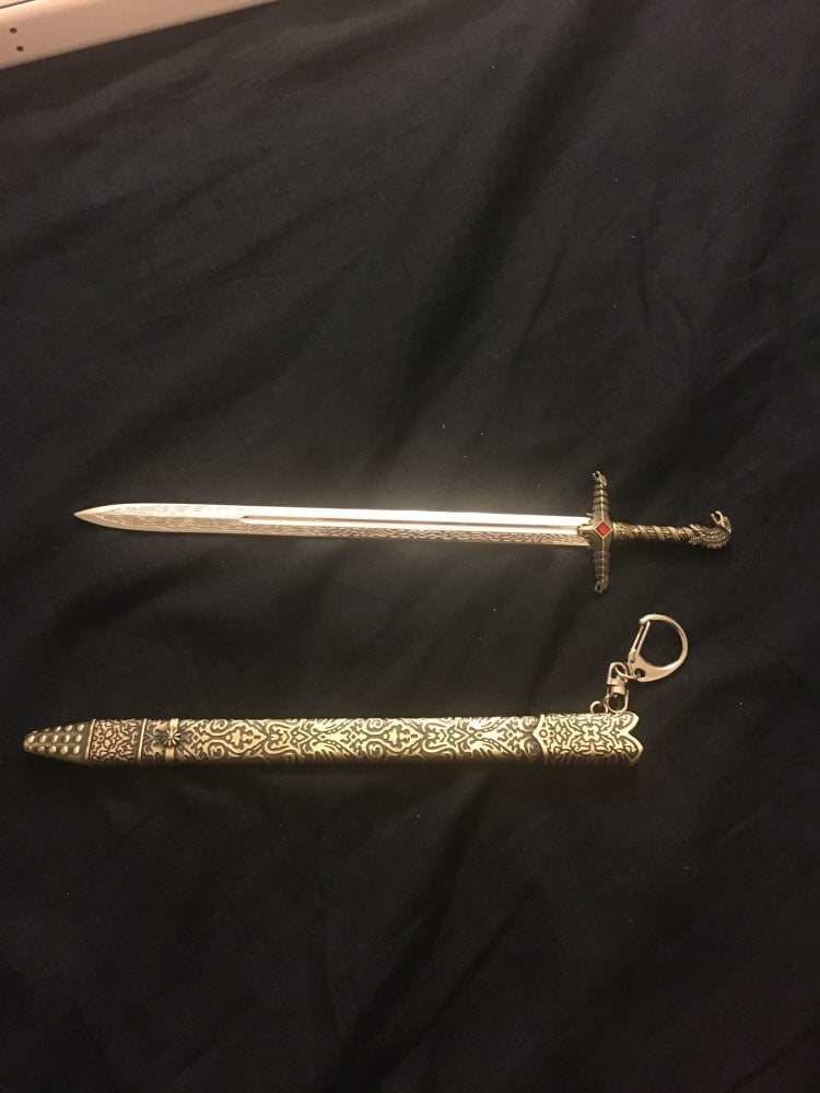 Game Of Thrones Weapon Keychain