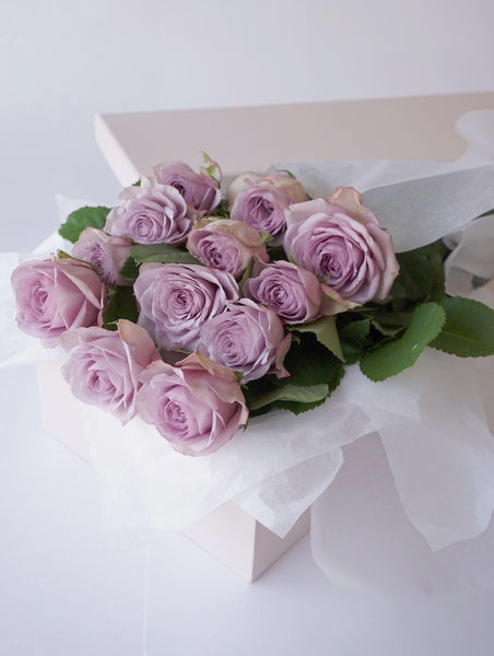 Dozen Lilac Roses | Valentines Day | Buy Flowers | Buy Roses | Zimzee Flowers | Auckland New Zealand