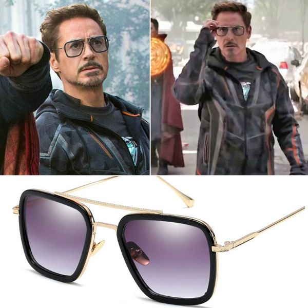Avengers Infinity War Endgame Tony Stark Sunglasses - EDITH