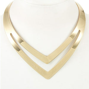 V Cut Out Choker