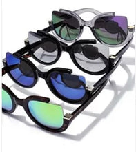 Load image into Gallery viewer, Chasity Cut Out Rim Sunglasses