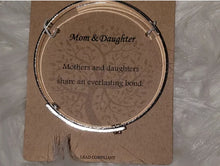 Load image into Gallery viewer, Mom & Daughter Swirl Bracelet