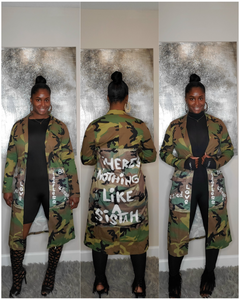 There's Nothing Like a Sistah Camo Jacket